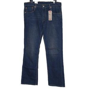 Levi's 527 Jeans Slim Bootcut 38 x 34 Men New Dark